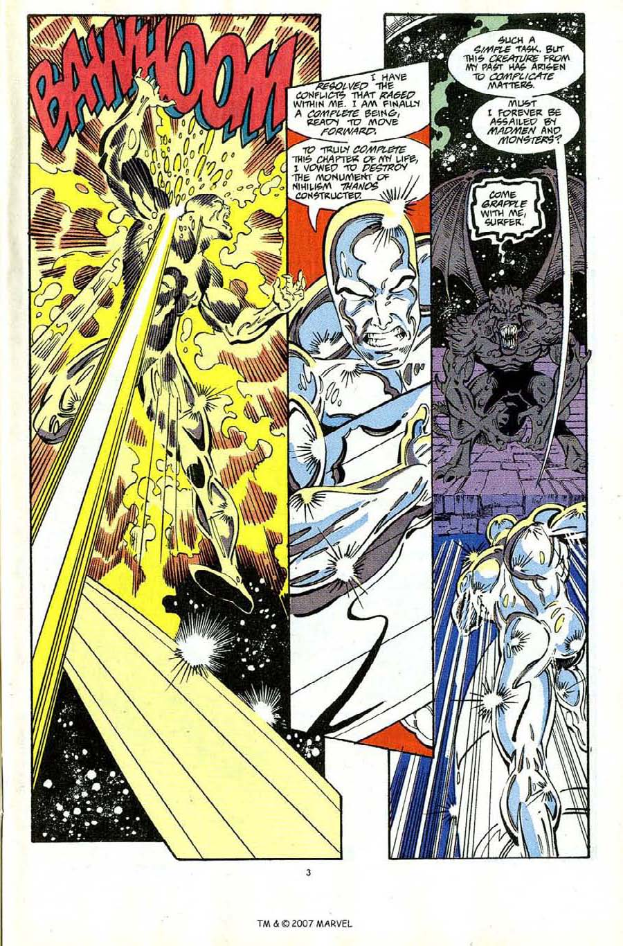 Read online Silver Surfer (1987) comic -  Issue #65 - 5