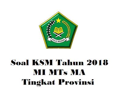 Contoh Soal KSM