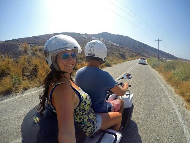 Quad Biking ATV in Santorini