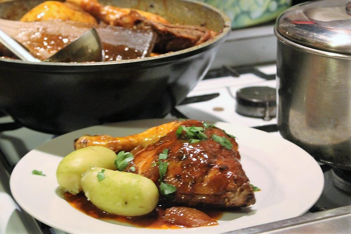 Huhn In Glühwein Coq Au Vin Chaud Glatzkochde