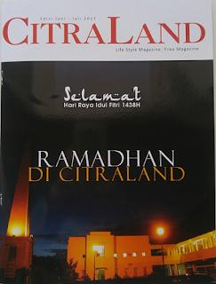 Majalah Citraland Lifestyle Magazine Surabaya