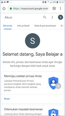 Cara 1 : Membuat Akun Gmail melalui Browser Android 5