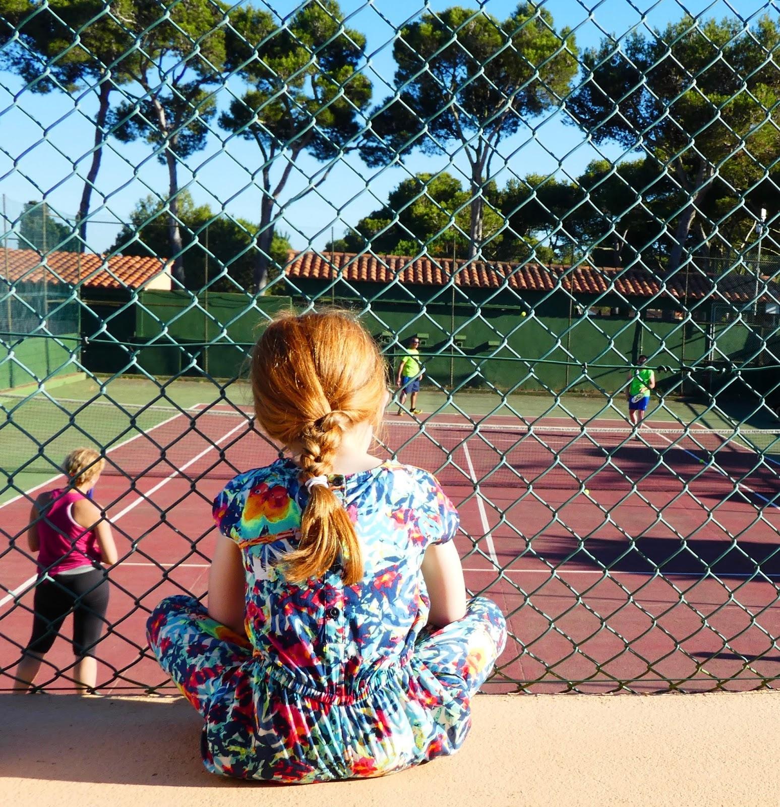 Camping La Siesta, Calella de Palafrugell, Costa Brava - a review - tennis