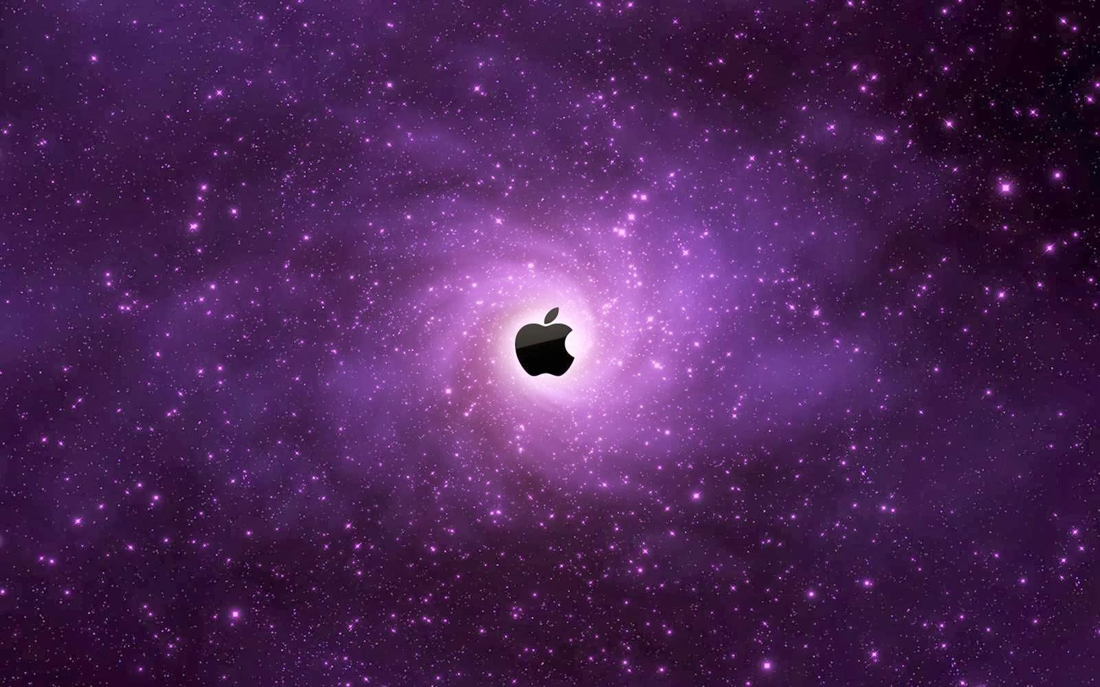 Fondo De Pantalla Apple Morado