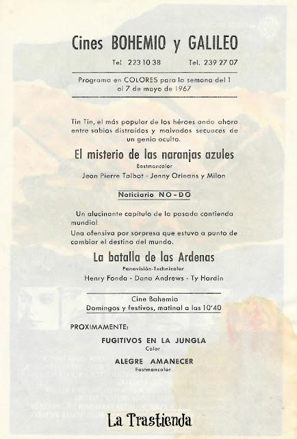 Programa de Cine - La Batalla de las Ardenas - Henry Fonda - Robert Ryan - Dana Andrews - Pier Angeli