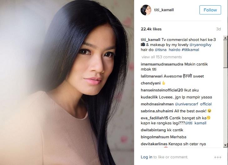 Titi Kamal : Selingkuh Tak Termaafkan ! Ulasan Singkat Artis Cantik Indonesia Masalah Hubungan Rumah Tangga