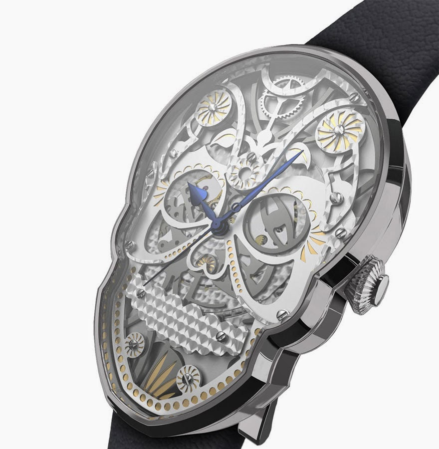 24 Of The Most Creative Watches Ever - Skull Watches