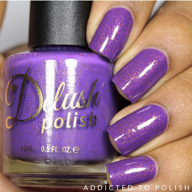 Delush Polish I'm Jaws Sayin Nautical by Nature Swatches and Review