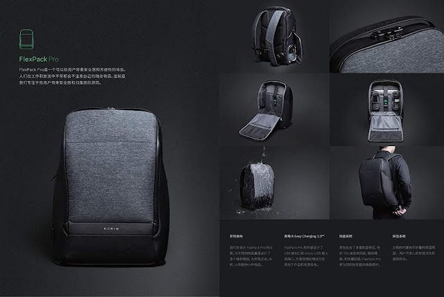 The Fusion Anti-Theft  Backpack is a Techies Dream! #grandfusion #antitheft #travel