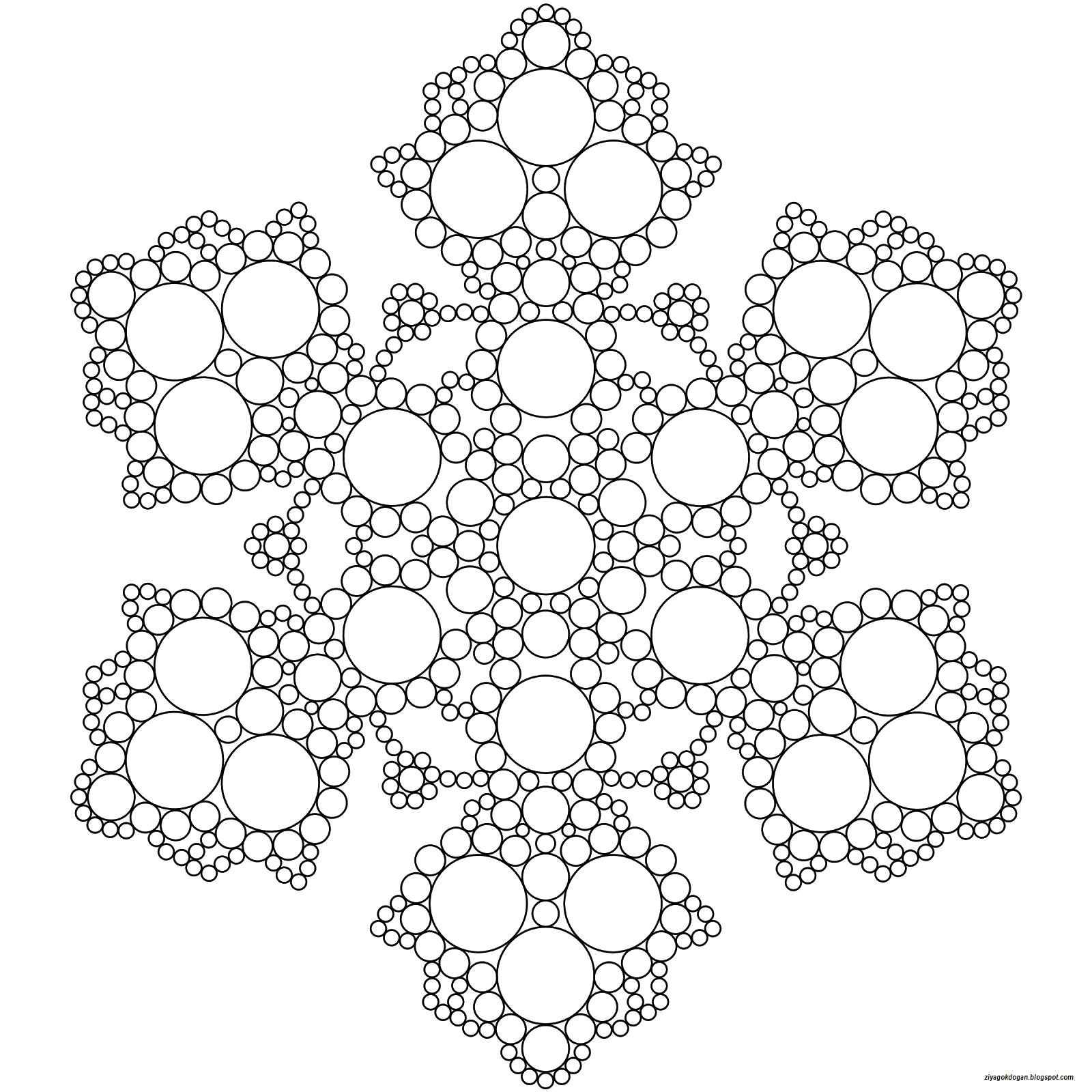 Basit Mandala örnekleri