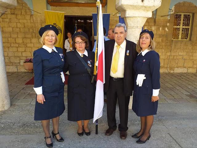 Εθελοντές από το Περιφερειακό Τμήμα Ε.Ε.Σ Άργους τίμησαν τους ήρωες του '21