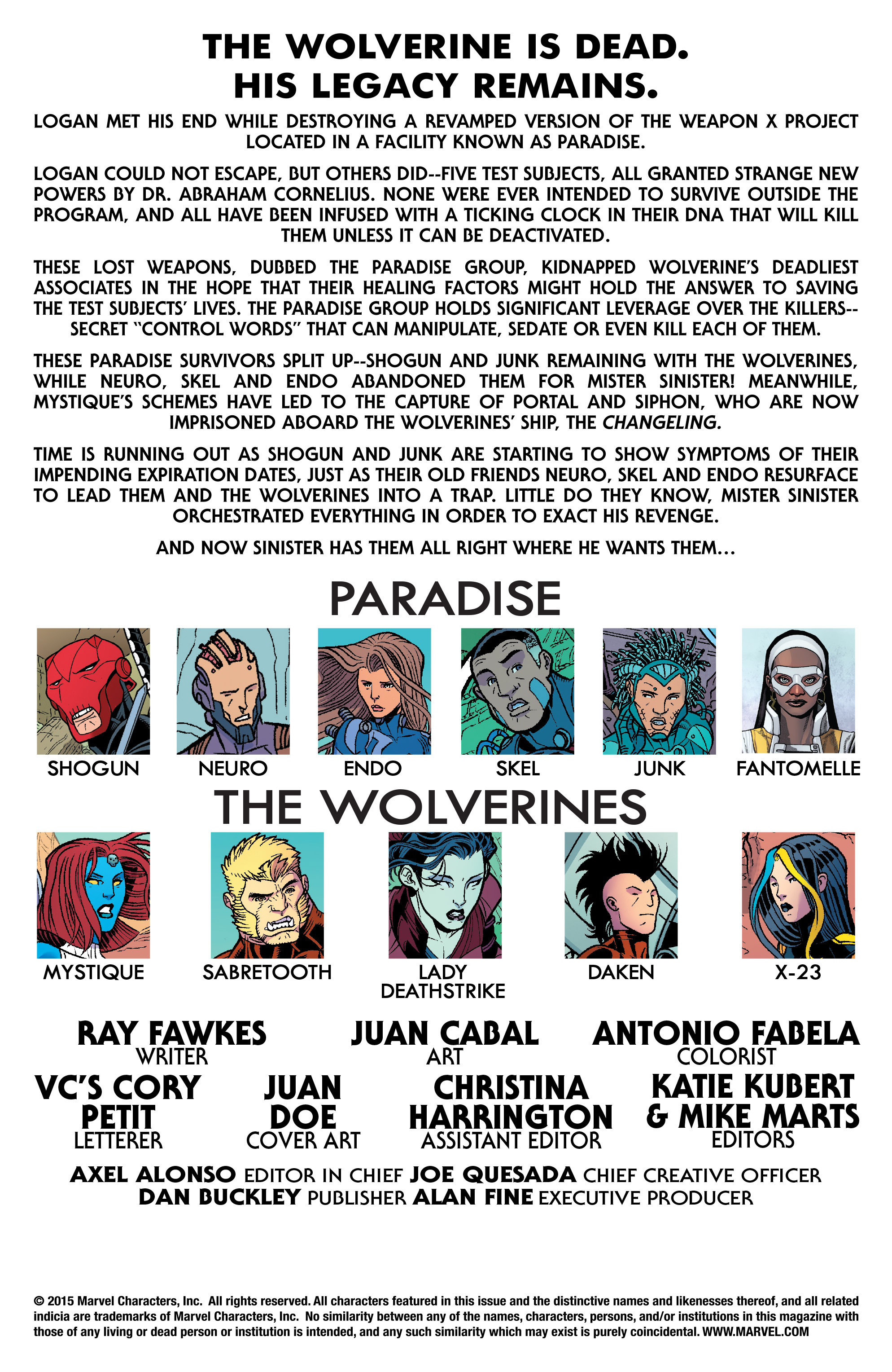 Read online Wolverines comic -  Issue #17 - 2