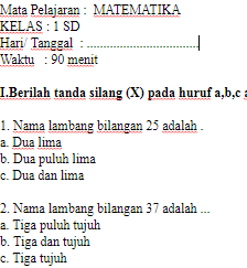 Soal-UAS-UKK-MATEMATIKA-Kelas-1-SD-Semester-2