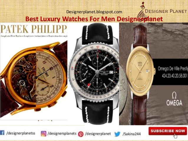 Best Luxury Watches For Men||Wrist Watches for Men|| Designerplanet