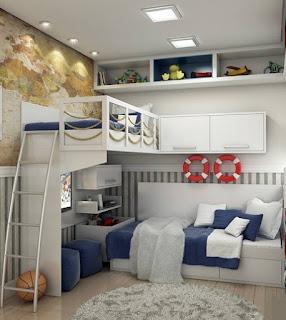 Habitación juvenil temática