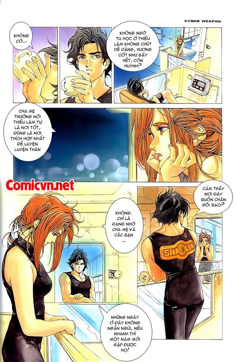 Cyber Weapon Z - Siêu Thần Z chap 2 - Trang 26