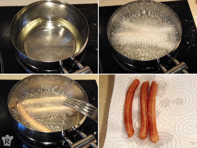 Fríe la masa