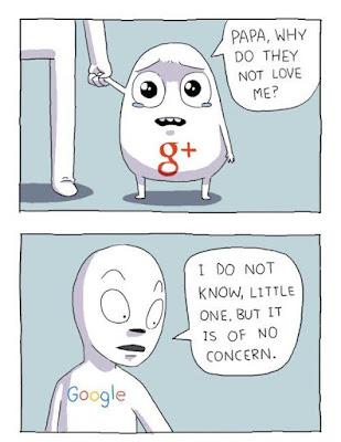 جوجل بلس مدينة الأشباح