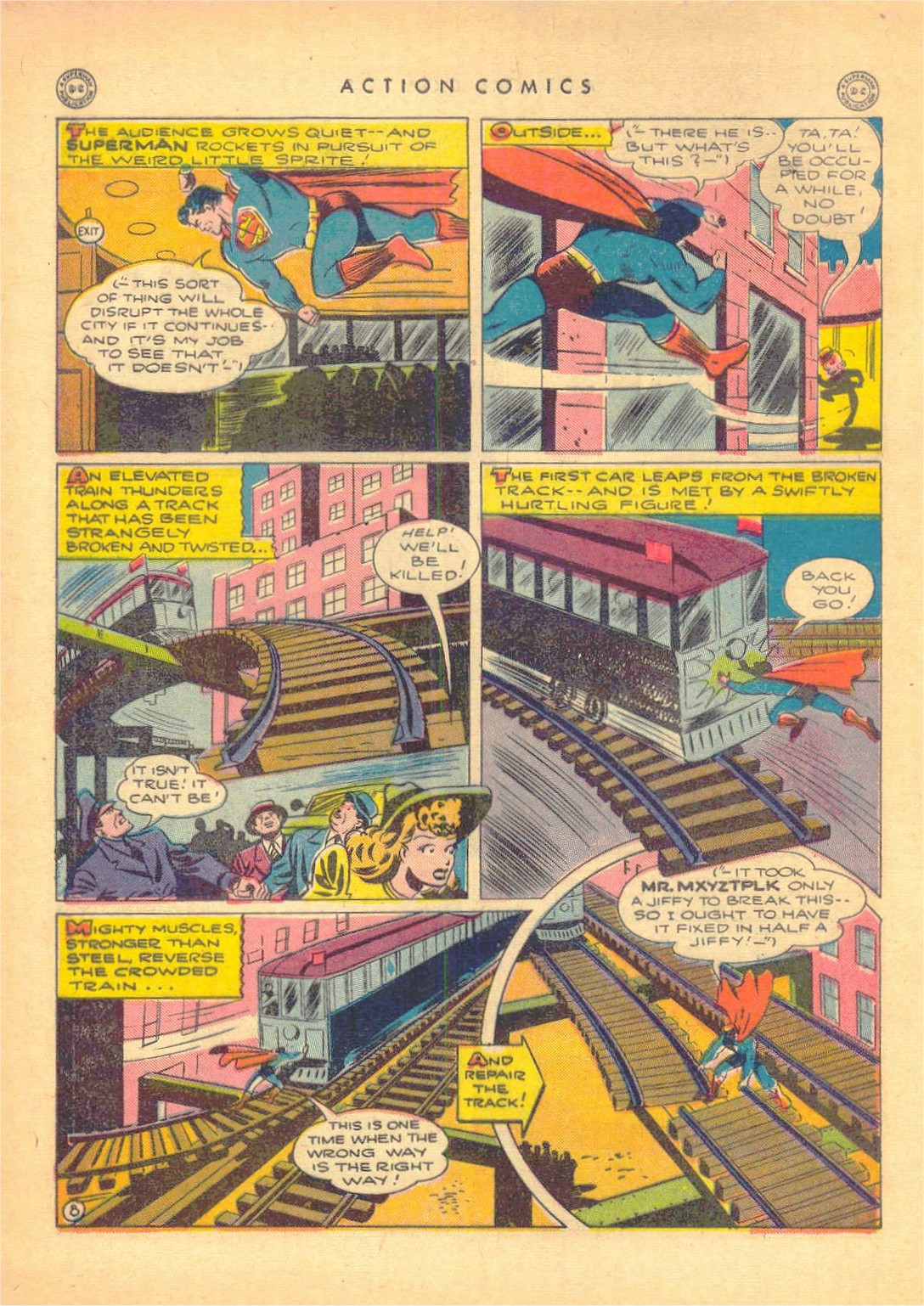 Read online Action Comics (1938) comic -  Issue #80 - 9