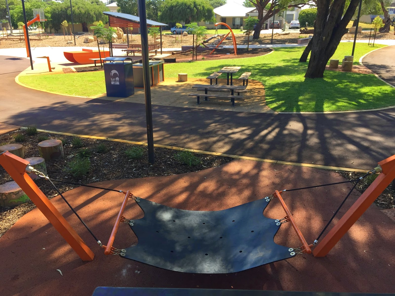 Basketball System Perth Carawatha Park Willagee Out And About In Perth With Bub