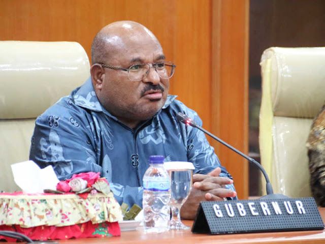 Lukas Enembe Ajak Provinsi Papua Barat Dorong Evaluasi UU Otsus