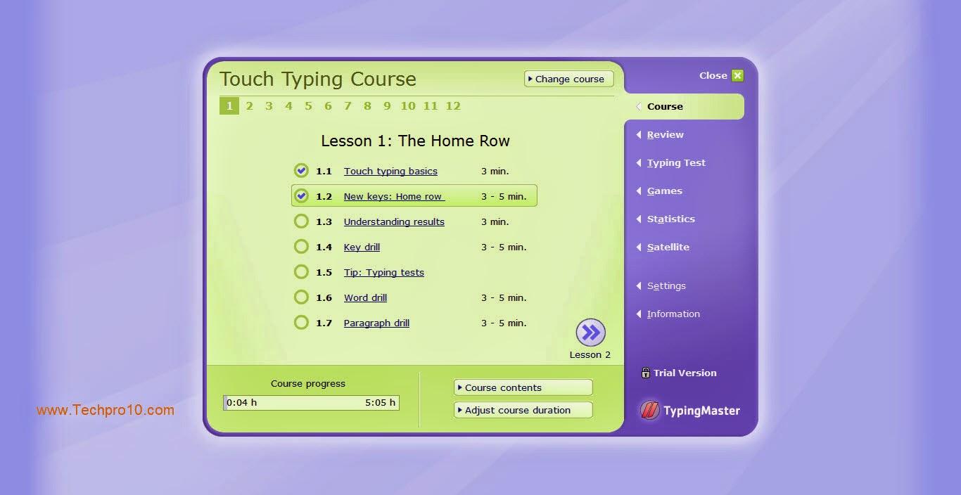 تحميل برنامج typing master كامل مجانا