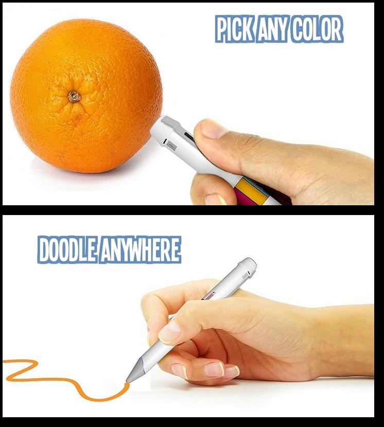 John The Math Guy Scribble Pen A Real Color Picker Pen