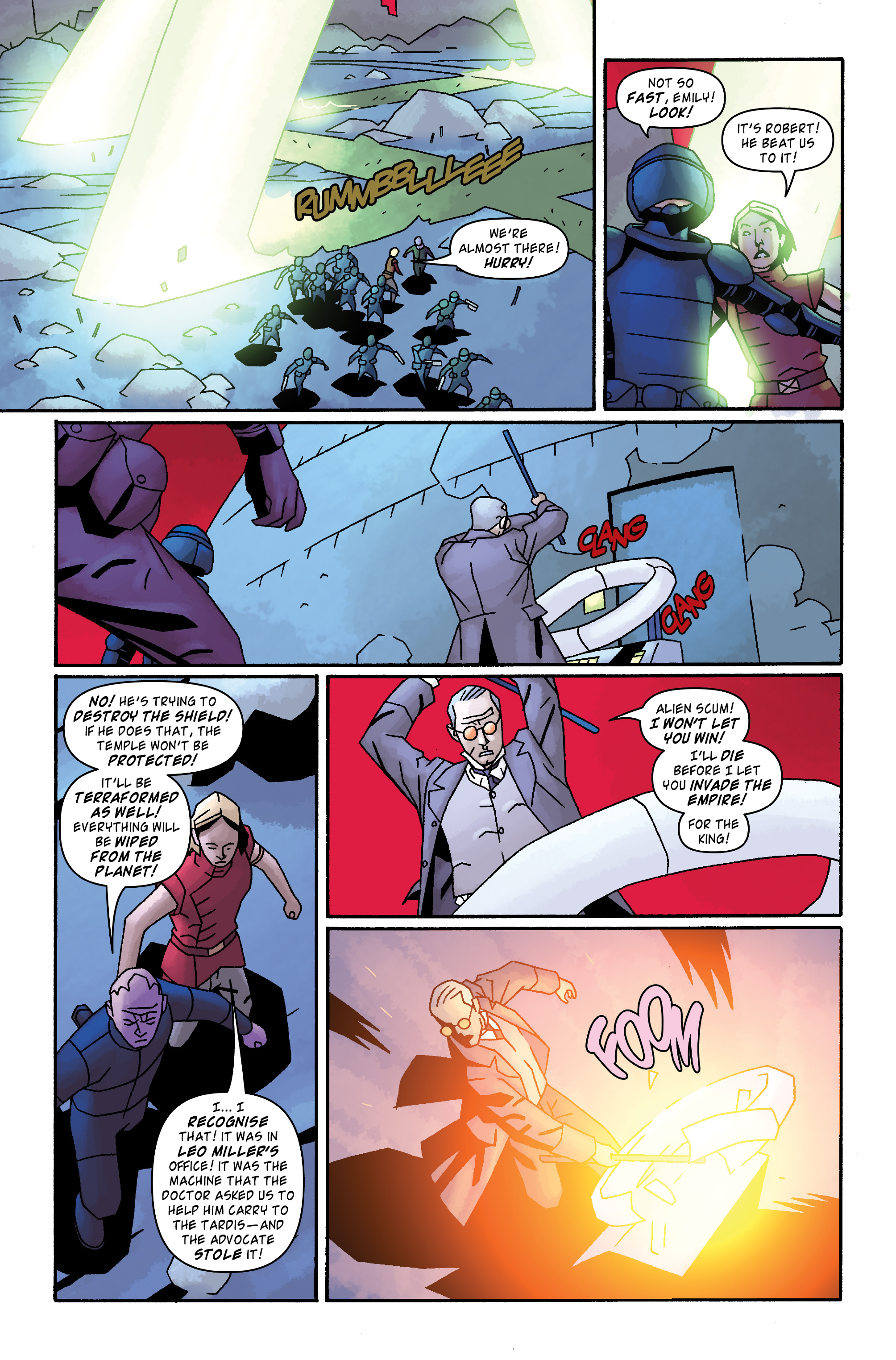 Read online Doctor Who: The Tenth Doctor Archives comic -  Issue #33 - 20