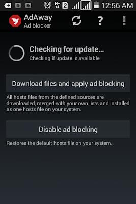 Aplikasi keren untuk hp android root adaway