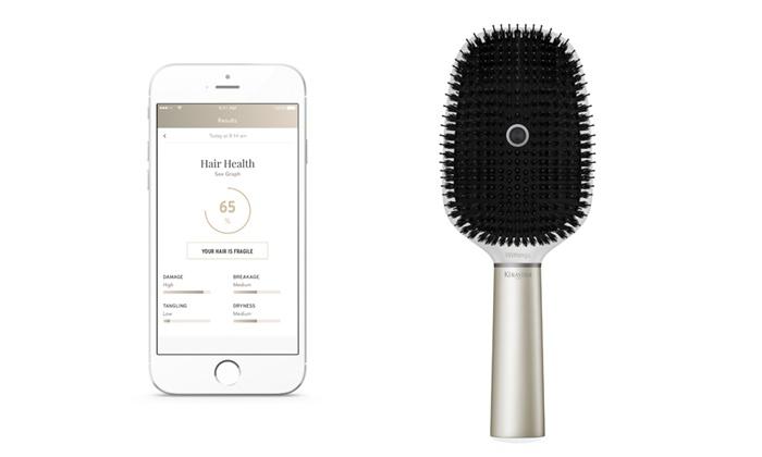 Conheça a primeira escova inteligente que lhe diz se o seu cabelo esta bom