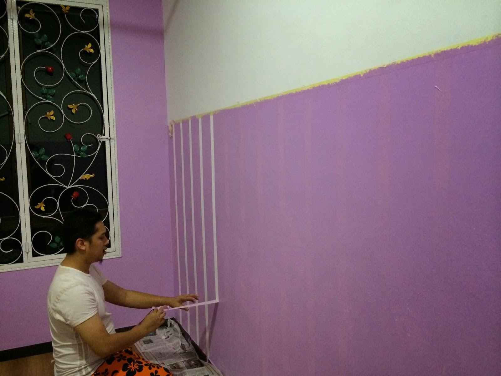 It S About Life Hias Bilik Deco Cat Wallpaper Diy
