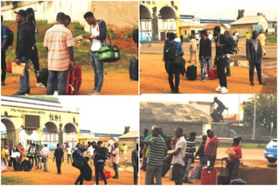50 Nigerians deported from eight countries arrive Lagos (Photos)