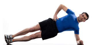 Side plank exercises