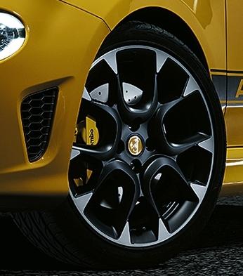 2017 Abarth 595 New 17-inch Wheel