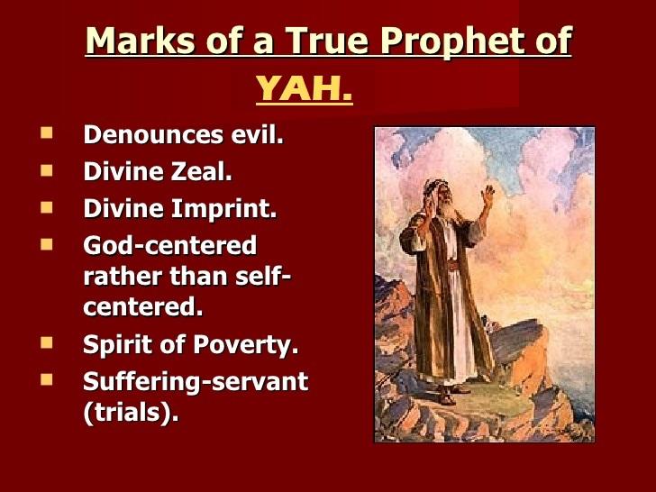 True Fruit Bearers: False Prophet of Chronicles