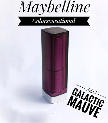 "Maybelline Colorsensational ""240 Galactic Mauve"""