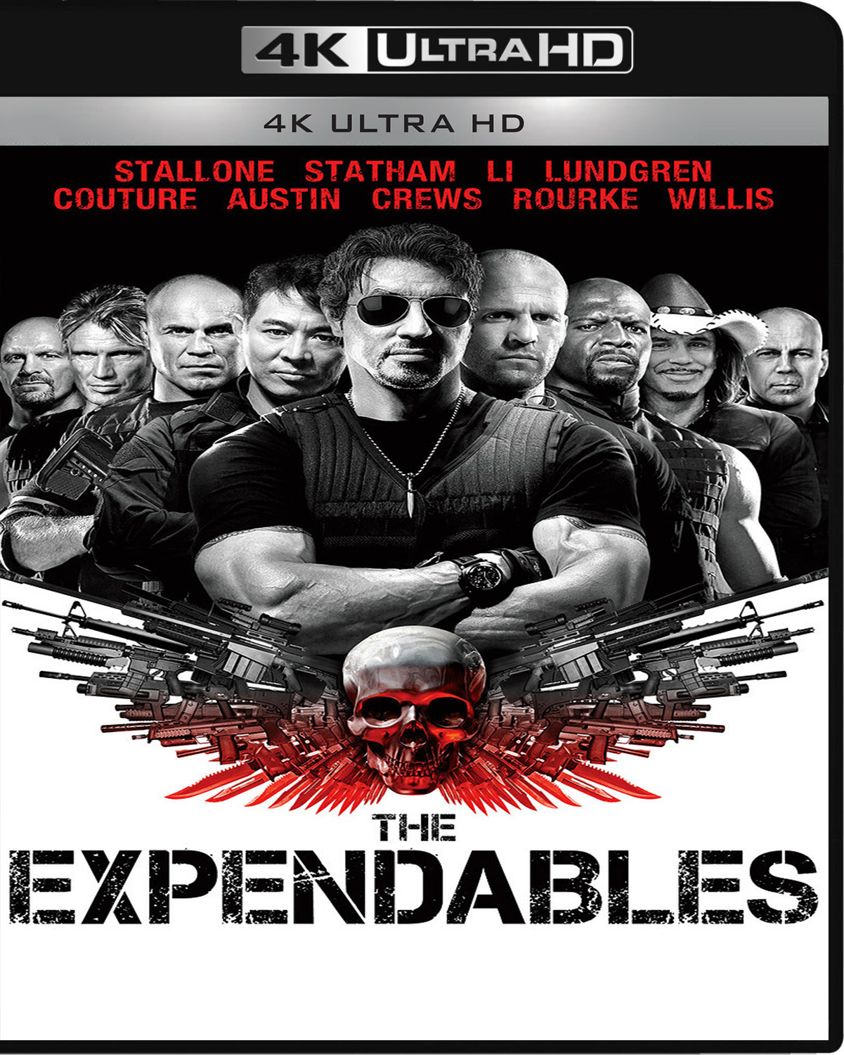 The Expendables [2010] [UHD] [2160p] [Latino]