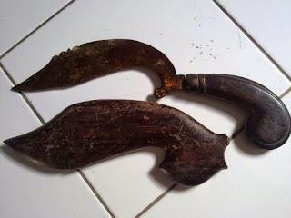 Provinsi Jawa Barat - Senjata Tradisional : Kujang