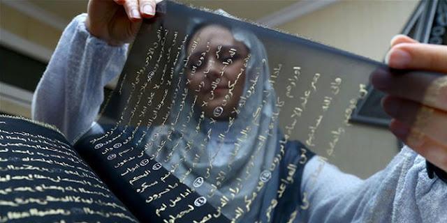 Tunzale Memmedzade, Seniman Cantik Habiskan 3 Tahun Tulis Alquran Dengan Tinta Emas