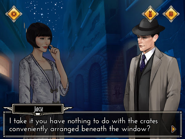 Miss Fisher and the Deathly Maze Apple iPhone review