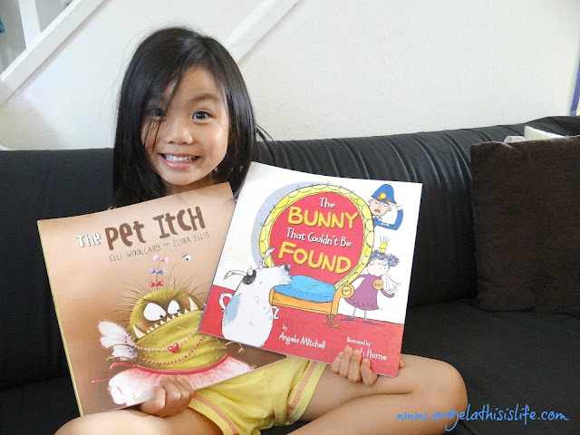 Funny children books, The Pet Itch, The Bunny that Couldn't Be Found