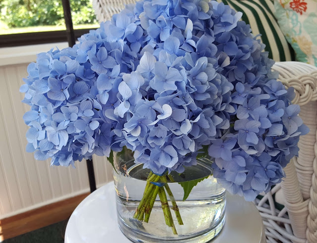 A Beautiful Hydrangea Arrangement