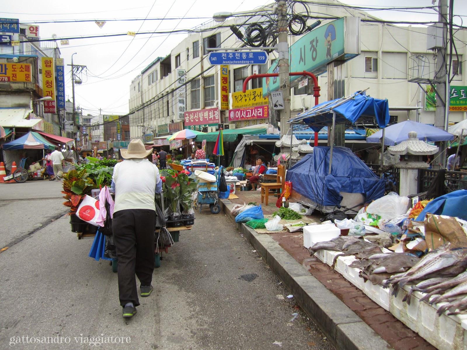 Jeonju Market