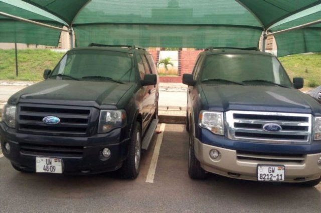Mahama's Ford Expedition was at Flagstaff House last month - Manasseh Azuri