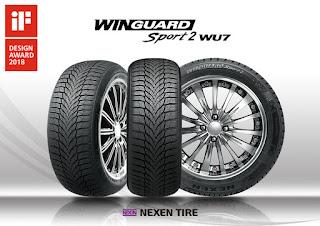 Un neumático de invierno de Nexen Tire, premiado en el prestigioso 'iF Design Award'