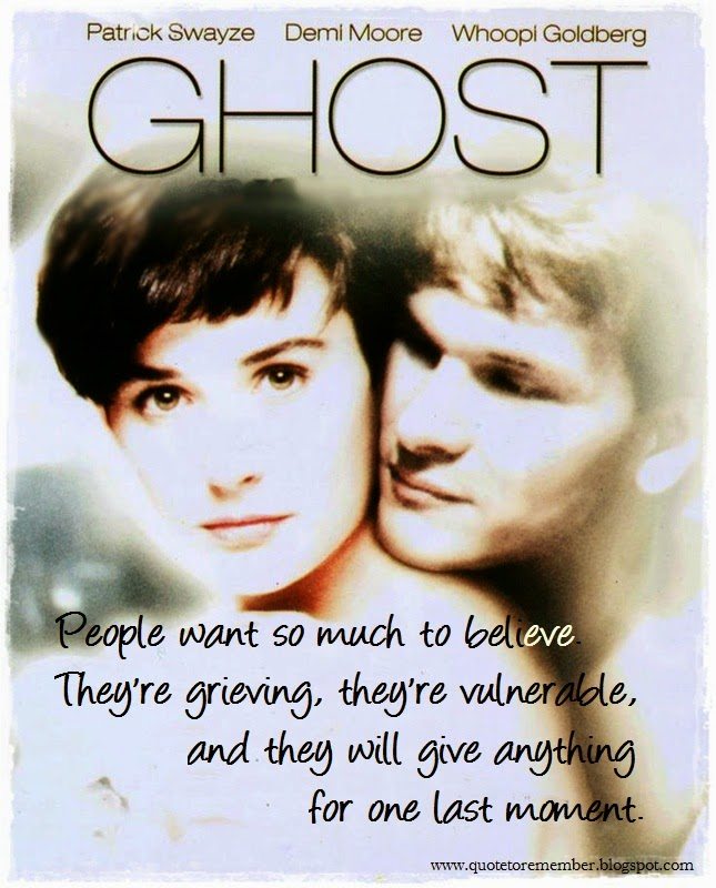 Quote To Remember Ghost 1990