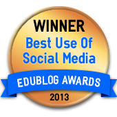 Edublogs Award Winner