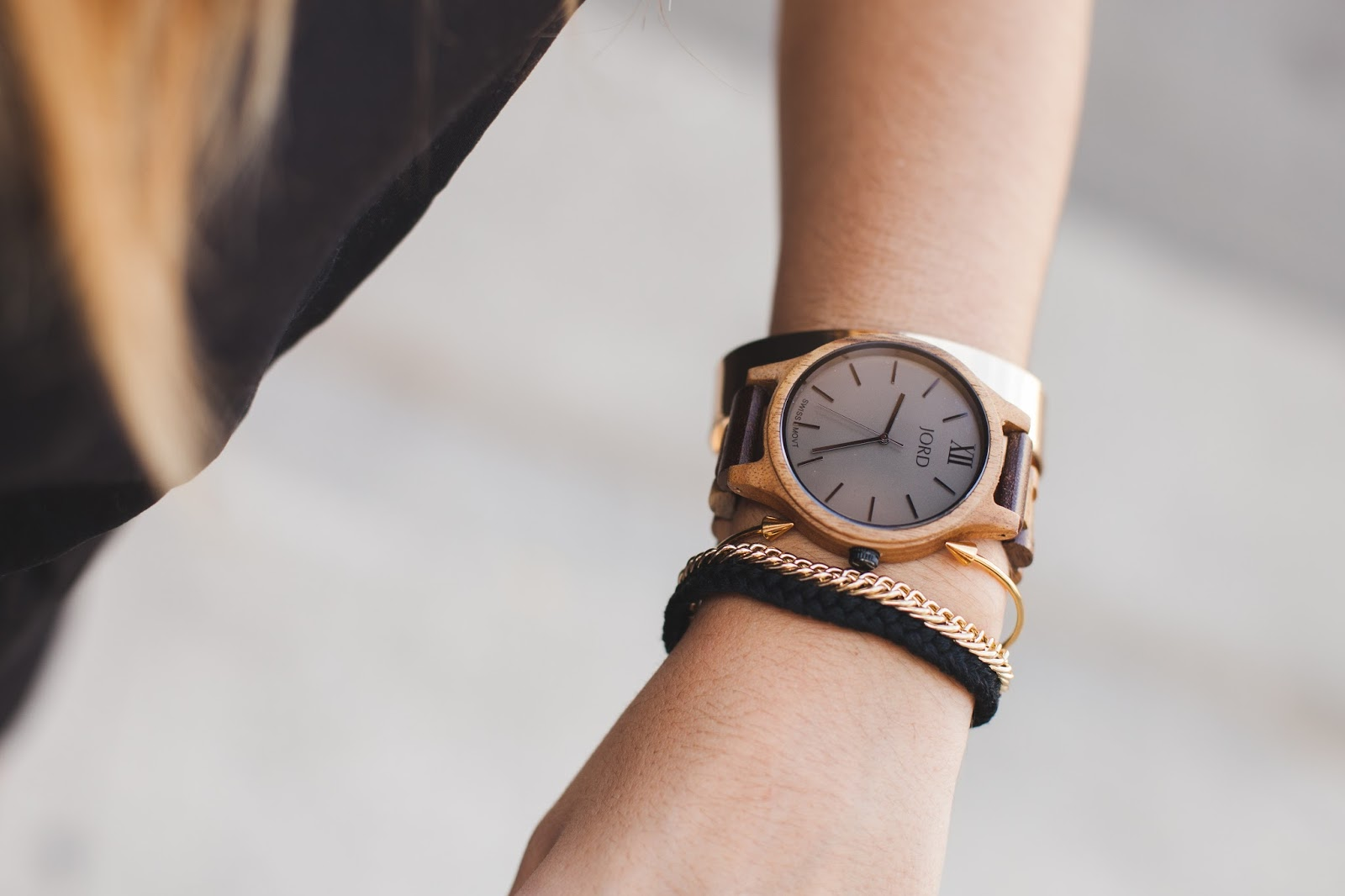Stocking Stuffer for Her -- JORD Wooden Watches