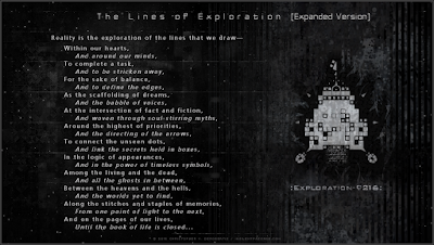 The Lines of Exploration (Expanded Version) Copyright 2016 Christopher V. DeRobertis. All rights reserved. insilentpassage.com