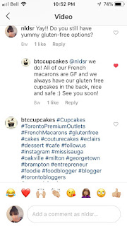 B's Truly Couture Cupcakes - The Cupcake Cafe - Gluten-free